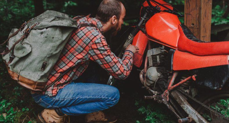 Best Motorcycle Backpack With Helmet Holder