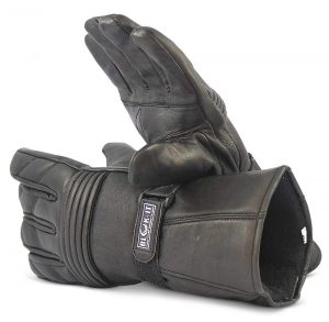 Best Blok-IT Full Leather motorcycle gloves for cold weather