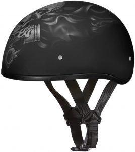 best daytona half helmet no mushroom